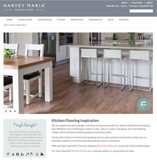 Kitchen Flooring Inspiration