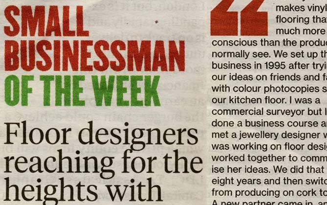 Small Businessman of the Week