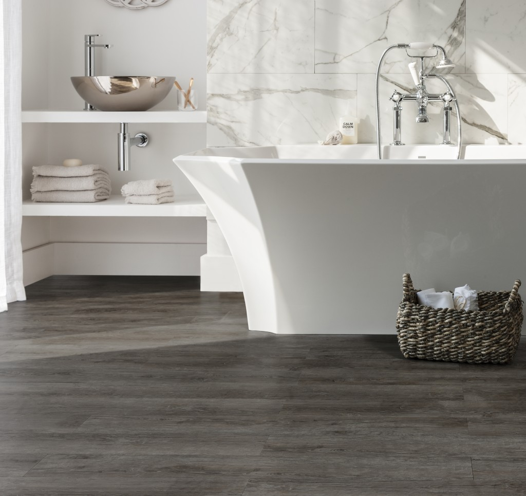 Harvey Maria Vinyl Floor Tiles Design Traditional Kitchen: How To: Create A Rough Luxe Look In Your Bathroom!