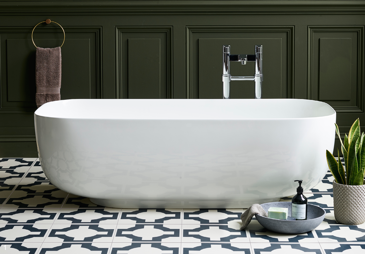 Heritage Hues: Go for green in the bathroom