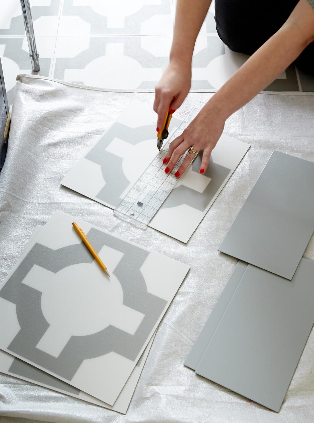 How To: Prepare your floor for installing vinyl tiles